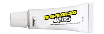 Pegamento Parches Armybox